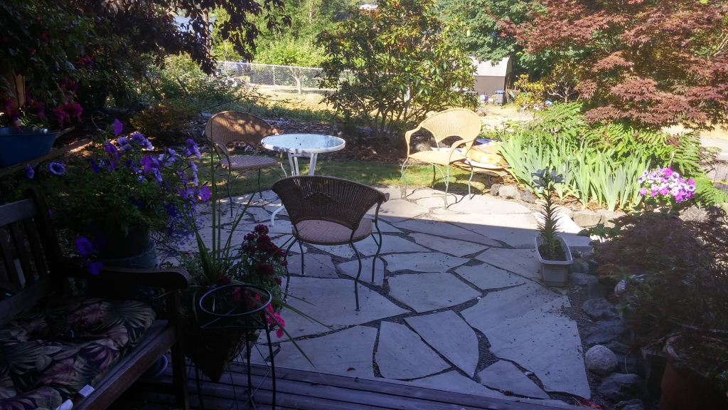 Stone pathways patios pavers levy s lawns for Landscaping rocks tacoma